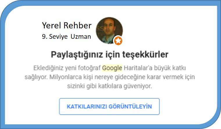 Google Yerel Rehber Uzmanı